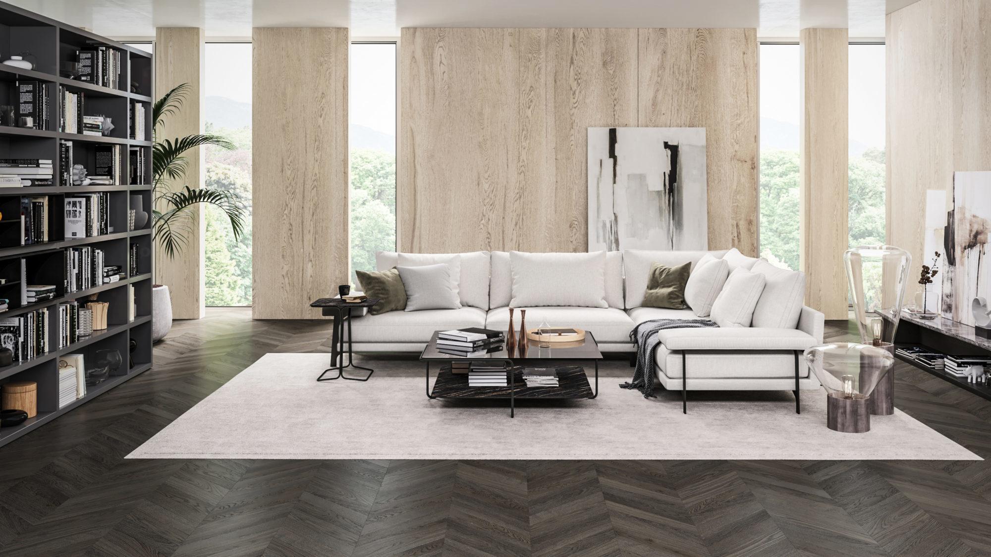 Sofa w centrum rodzinnego życia