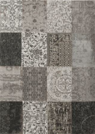 PATCHWORK BLACK & WHITE 8101LP 140×200
