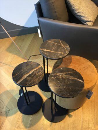 Komplet stolików kawowych Sting – z ekspozycji