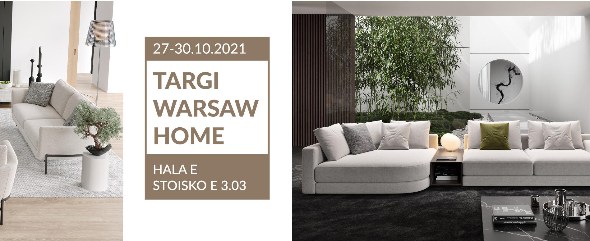 Odwiedź nas na Warsaw Home – 27-30.10.2021
